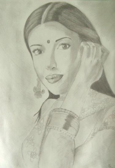 Aishwarya Rai by morgane